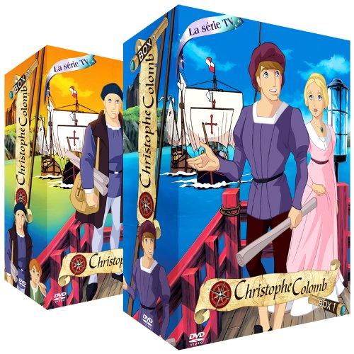 Christophe Colomb - Intégrale (Série TV) - Packs 2 Coffrets (8 DVD)