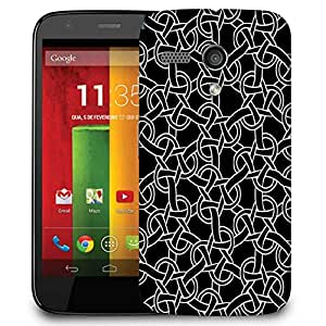 Snoogg Weird Pattern 2507 Designer Protective Phone Back Case Cover For Motorola G / Moto G