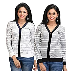Limeberry Womens 2 Pack Cardigans