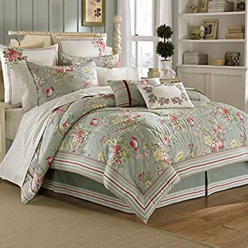 Vintage Queen Comforter Set Laura Ashley Eloise