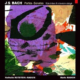 Bach: Partita - Sonatas (Transcribed for Recorder and Obbligato Harpsichord)
