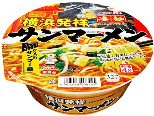 ニュータッチ 凄麺 横浜発祥サンマー麺 93g×12個