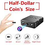 Smallest Hidden Spy Camera,ZTour 1080P Mini Secret HD Nanny Video Camera Recorder with Night Vision and Motion Detection,Tiny,Compact Covert Security Camera for Home,Office,Car Dash Inside Spying