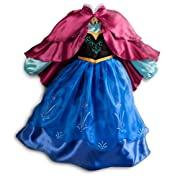 Disney Store Frozen Princess Anna Costume Size Small 5/6 - 5T