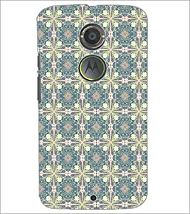 PrintDhaba Pattern D-5326 Back Case Cover for MOTOROLA MOTO X2 (Multi-Coloured)
