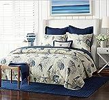 gardenlightess ベッドカバー キルト ベッドスプレッド ソファーカバー ケイーン キング用 3点セット 100%綿 貝殻柄