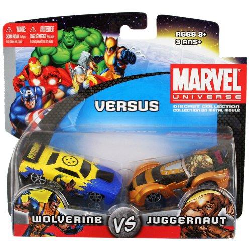 Maisto Marvel Universe Wolverine vs. Juggernaut