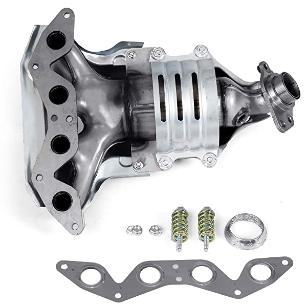 Replaces 18160-PLM-A00 Stainless Steel High Flow Exhaust Manifold ...