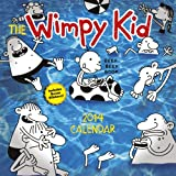 Jeff Kinney Diary of a Wimpy Kid calendar 2014