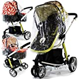 Rain Cover For Cosatto Giggle Raincover Pram Travel System Carrycot Heavy Duty Professional