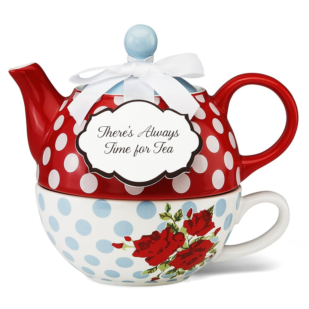 You and Me Tea for One Teapot Set