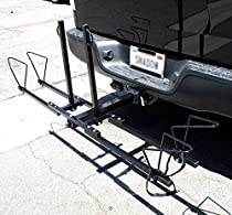 2 Bicycle Bike Hitch Rack Carrier Mountain Bikes Cycling Car Truck Auto Camping