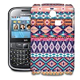 Pastel Aztec Tribal Geometric Phone Hard Shell Case for Samsung Galaxy S3 S4 S5 Mini Ace Nexus Note & more - Samsung Ch@t 335