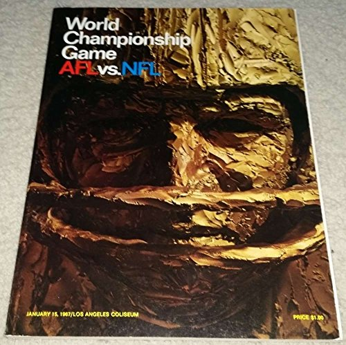 1967 Super Bowl I Program World Championship game fine/fine cond great 37936 (1967 Super Bowl Program compare prices)