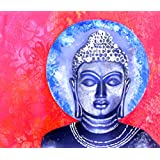 Tallenge - Blue Buddha Art - A3 Size Rolled Poster