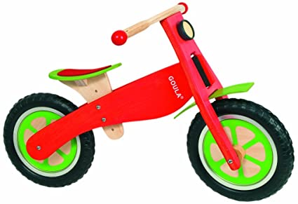 Goula - 54150 - Jouet en Bois - Eveil - Bicyclette marche
