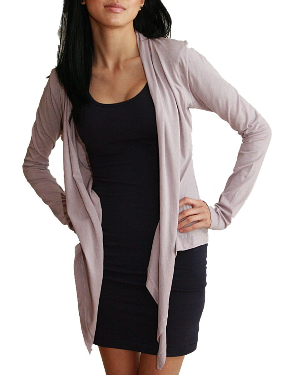 Custom Dyed Long Sleeve Stevie Wrap Cardi 4507
