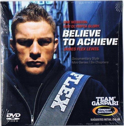 Gaspari Nutrition Flex Lewis Believe To Achieve Dvd