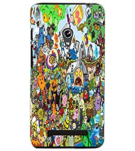 ASUS ZENFONE 5 A501CG CARTOONS Back Cover by PRINTSWAG