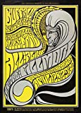 Vintage BUFFALO SPRINGFIELD & STEVE MILLER BLUES BAND * 250gsm Gloss ART CARD A3 Reproduction Poster