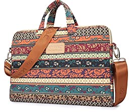Kinmac New Bohemian Laptop Briefcase 15.6 Inch Laptop shoulder bag Sleeve case 15 Inch for Macbook Pro 15 and 15 Inch Dell/hp/lenovo/sony/toshiba/ausa/acer/samsung