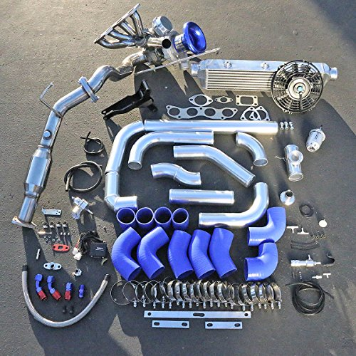 Honda Civic Si K20A3 EP3 High Performance 15pcs T04E Turbo Upgrade Installation Kit (Blow Off Valve For Honda Civic Si compare prices)