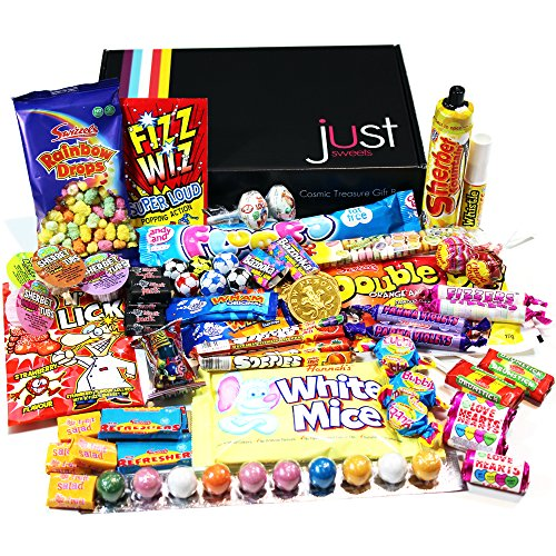 The Best Ever Retro Sweets COSMIC Treasure Box - The Original Sweet Shop in a Box! - Great gift idea for him or...