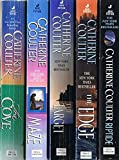 img - for Catherine Coulter's FBI Thrillers, 16 Vol. Collection: The Cove; Maze; The Target; The Edge; Riptide; Hemlock Bay; Eleventh Hour; Blind Side; Blow Out; Point Blank; Double Take; Tail Spin; Knock Out; Whiplash; Split Second; Back Fire book / textbook / text book