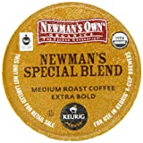 Newmans Own Special Blend Coffee, K-Cup Portion Pack for Keurig K-Cup Brewers (Pack of 80)