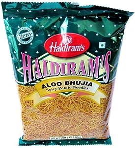 Haldiram's Aloo Bhujia (Spicy Potato Noodles) - 200g from Haldiram