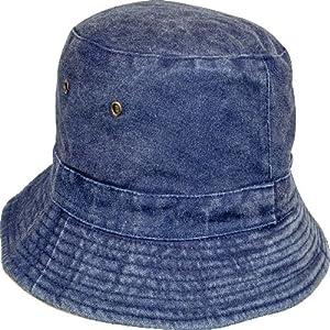 Highlander Reversible Sun Hat - Beige/Blue, Small