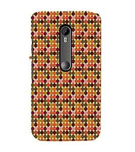 EPICCASE colorful spots Mobile Back Case Cover For Moto X Force (Designer Case)