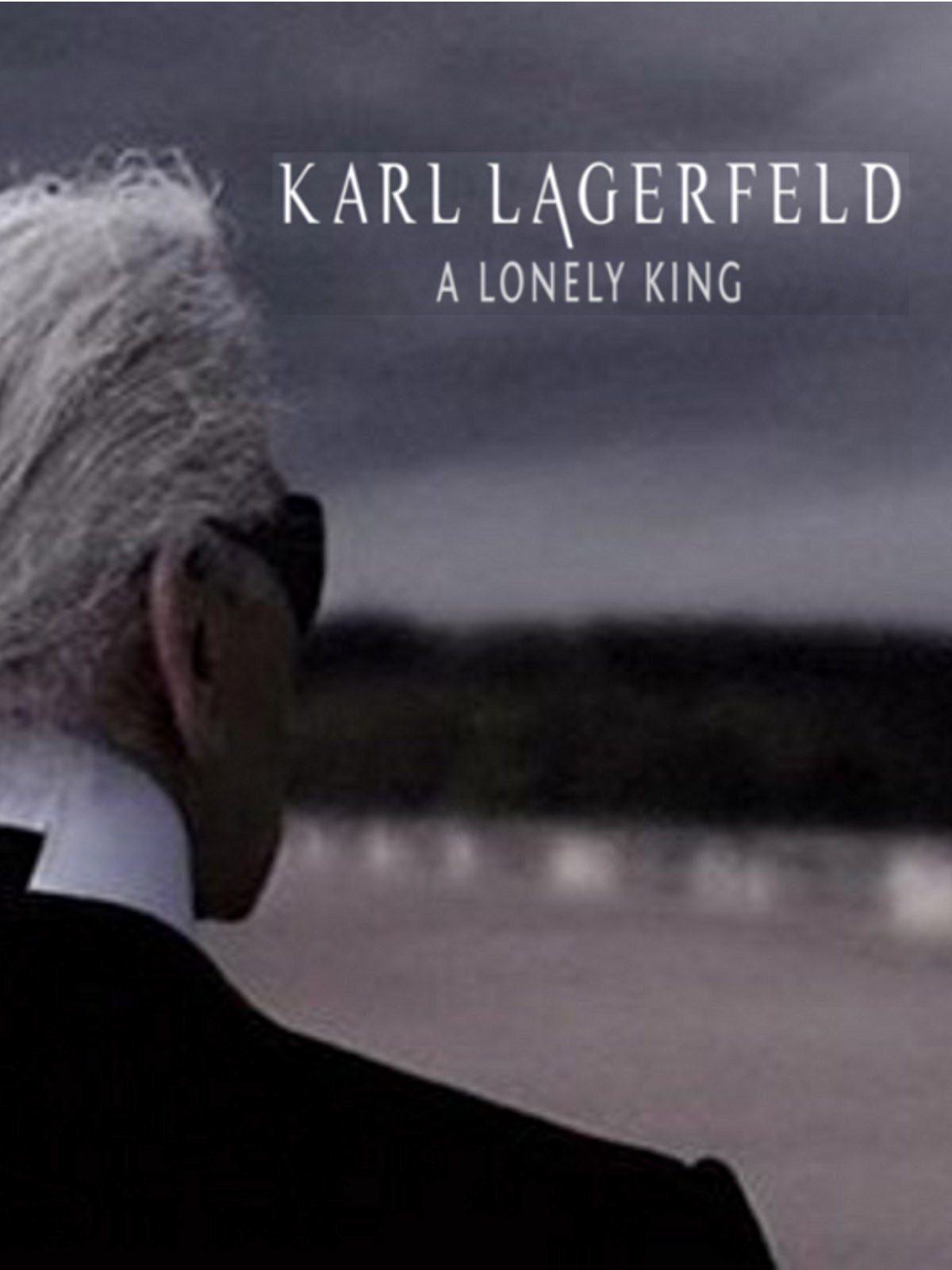Karl Lagerfeld, a lonely king