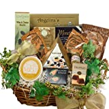 Art of Appreciation Gift Baskets   Savory Sophisticated Gourmet Food Gift Basket with Caviar - Large