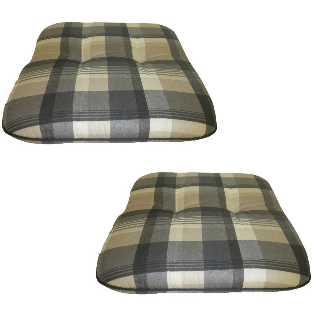beo M942 Forli BA1 Kordelauflage für Hocker, Bänke und Stühle, circa 47 x 47 cm, 6 cm Dick, grau online bestellen