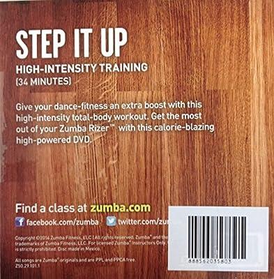 Zumba Fitness Step It Up DVD