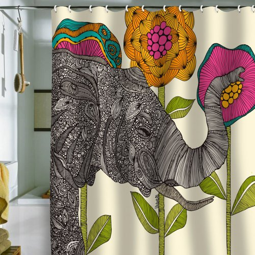 DENY Designs Valentina Ramos Aaron Shower Curtain, 69 by 72-Inch