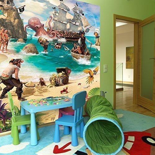 walltastic-disney-pirat-adventure-kunstdruck-aufkleber-tapete-vinyl-mehrfarbig-204-x-243-cm