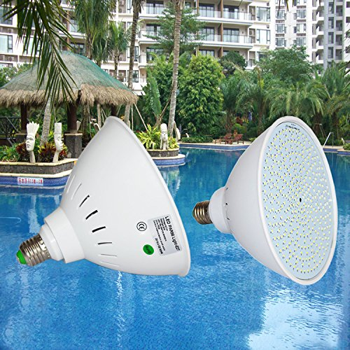 Wyzm 12volt 35watt Color Changing Led Pool Light Bulb Replacement For 500w Pentair And Hayward