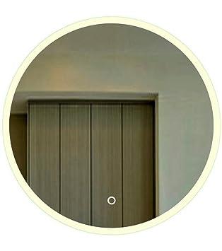 Specchio luminoso LED bagno Anti Appannamento, design rotondo Anna 60cm 70cm 80cm e 90cm, Froide, 60_cm