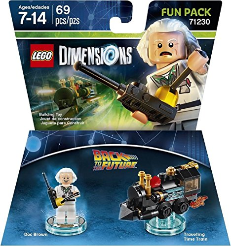 Back to the Future Doc Brown Fun Pack - LEGO