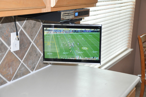 Kitchen Cabinet Tv. Screen Factor When Deciding On The Type Of ...