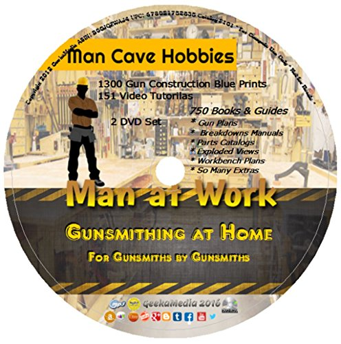Learn Gunsmithing At Home: 151 Gun Video Tutorials 750 Guides & Manuals 2 DVD Set (Gunsmithing Made Easy compare prices)