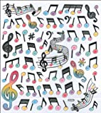 Multi-Colored Stickers-Modern Music
