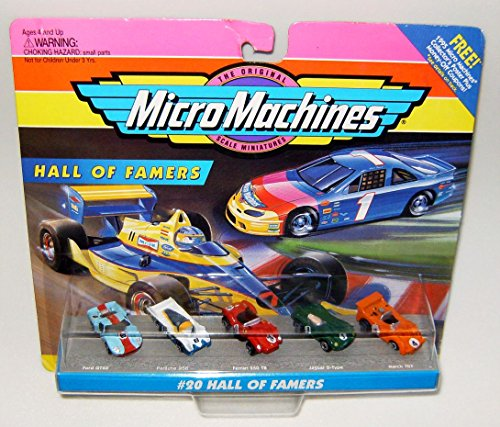Micro Machines Hall Of Famers #20 Collection