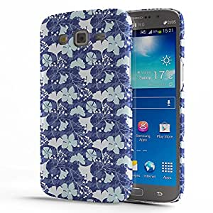 Koveru Back Cover Case for Samsung Galaxy GRAND 2 - Blue Lily Etsy