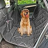 Hunde Autoschondecke, MixMart Wasserdichte Autositzschondecke universal Auto Schondecke Auto Rückbank Autoschutzdecke Auto Schutzdecke Hundedecke Auto-Abdeckung für Hunde (Schwarz)