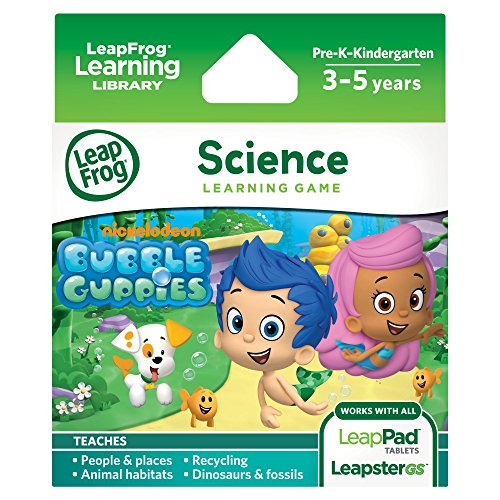 LeapFrog Learning Game: Bubble Guppies (for LeapFrog Epic, LeapPad Platinum, LeapPad Ultra, LeapPad1, LeapPad2, LeapPad3, Leapster Explorer, LeapsterGS Explorer) (Leap Pad Games compare prices)