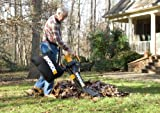 WORX TRIVAC 12 Amp Yard-in-One Blower/Mulcher/Vacuum with 210 MPH / 350 CFM Output, Includes 10 Gallon Bag - WG505