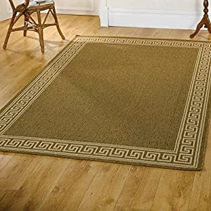 Flair Rugs Florence Lorenzo Rug, Natural, 80 x 150 Cm from Flair Rugs